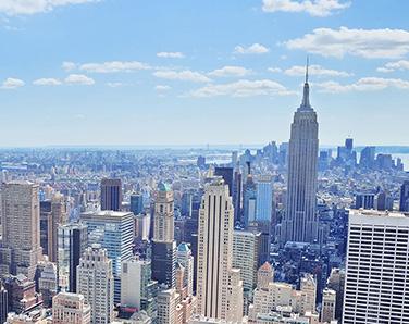 New York skyline by day