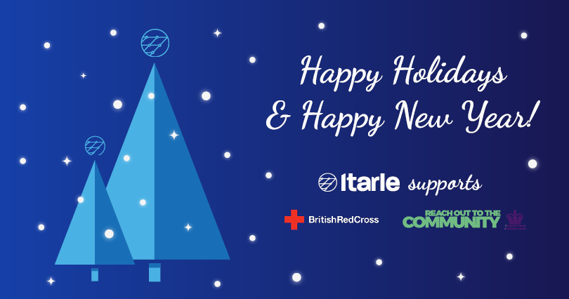 Holiday card with Itarle supports British Red Cross and Reach Out to the Community